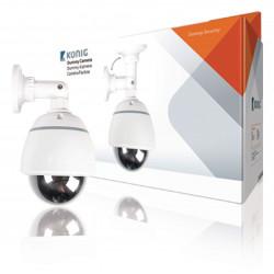 Imitierte uberwachungskamera mit blinklichte konig sec dummycam20