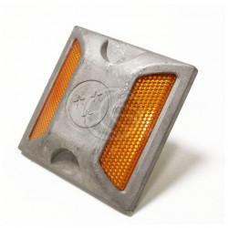 Plot road aluminum Reflector double anchor retro-reflective se92 road safety marking