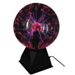 Lampe boule plasma vdl10pl 8p 20cm bxl-plsmball10 lumiere disco pilote rythme musique