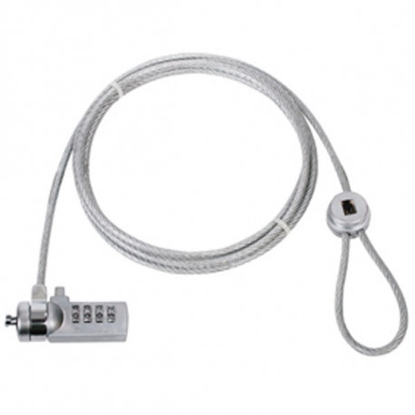 Cable anti robo codigo universal cable para proteccion computadora kong codigo 4 digitos