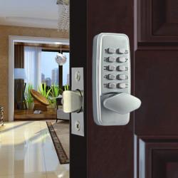 Zinklegierung Miniatur Mechanische Zahlenschloss Numberal Deadbolt Tür Digital Lock Keyless Passwort Nicht-Power Spezialschloss