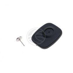 Badge noir clou 8.2mhz Étiquette anti-vol systeme portique antivol antenne contrôle d'acces magasin