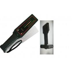 Détecteur de métaux 16 led detection metal pour fouille + support ceinture