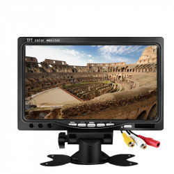 Monitor audio LCD TFT da 7 pollici 800x480 per telecamere retrovisive per auto, DVD per auto, videocamera