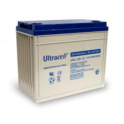 Rechargeable battery 12v 134ah uxl134 12 s solar aeolian rechargeable battery lead calcium battery