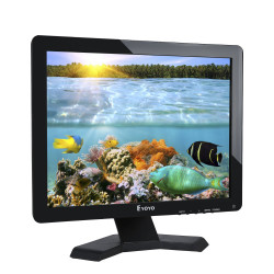 17 Inch LCD Monitor Panoramic1280x1024 Resolution 4: 3 FHD 1080P HD Video Screen HDMI BNC VGA USB AV In