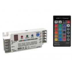 Controlador led rgb con mando a distancia