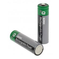 4 pcs hq nimh 1.2 v 2600 mah rechargeable aa batteries