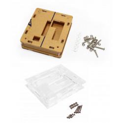 Boitier en acrylique transparent couvercle thermometre controleur thermique w1209 non inclu