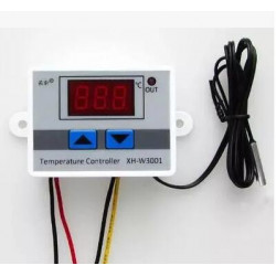 220V 10A DM-W3001 3 Bits LED Digit Temperature Controller for Arduino Cool/Heat Switch Thermostat with NTC Probe Sensor