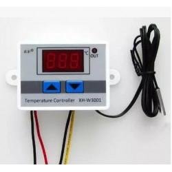 220V 10A DM-W3001 Contrôleur de température à 3 chiffres à LED pour thermostat Arduino Cool / Heat avec sonde de sonde NTC