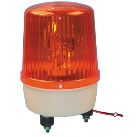 Electrical rotating light 220vac 35w amber fixed rotating light light warning emergency lights warning light systems for fire po