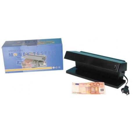 Detecteur faux billets carte bancaire 220v 2x6w professionnel zluv220/2