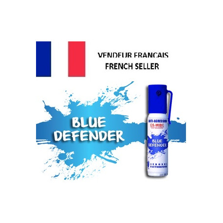 Abwehrspray cs-gas blau defender blue 2% 25ml spray bet