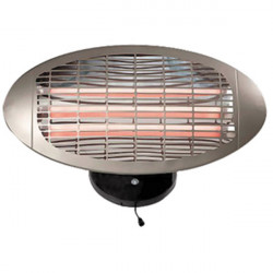 Hq quartz heater 1500w - wall mounting
