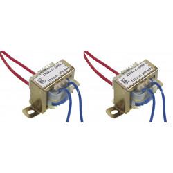 2 Open frame trasformatore 2.4va 12v 200ma 1 x 112002c componente elettronico