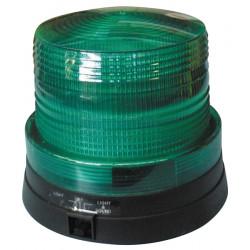 Girofaro magnetico verde 6 led pila 4.5v girofaro mini sirena flash con pilas zocalo luz iman