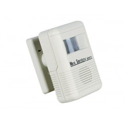 Portable doorbell alarm with pir detector