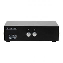 Commutateur ecran video moniteur vga et ordinateur cmp switch50 3 hd15p könig