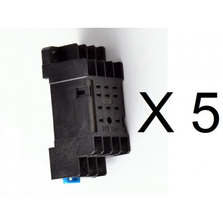 Support relais 11 pins PYF11A pour relais MY3 MY3NJ MY3N-J HH53P HH53P-L H3Y-3