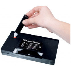 Cleaning tape k7 vhs video cassette tape clp 020 cleans touch konig