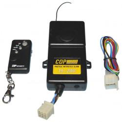 Motorbike alarm + shock detector + 1 remote control