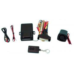 Alarma electronica moto antirrobo + deteccion choques + sirena electronica+ 1 mando a distancia ma620b antirrobos control a dist