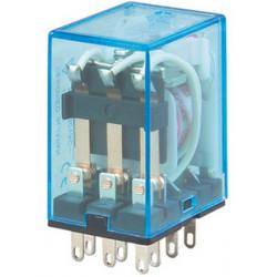 Relais 12vdc omron my3n-j my3nj hh53p pyf11a 2 no nc kontakte 10a unter 220vac elektrisches relais sicherheitstechnik