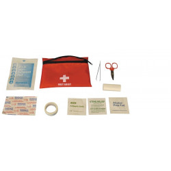 Kit first aid kit medical care pharmacy gauze bandage scissors scotch alcohol lag171.4815