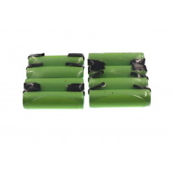 8 Rechargeable battery 1200mah 2A 1.2v lr06 aa am3 lr6 ni-mh with paw for razor brush tooth