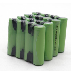 16 Rechargeable battery 1200mah 2A 1.2v lr06 aa am3 lr6 ni-mh with paw for razor brush tooth