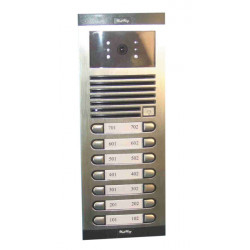 Intercom b w video street doorphone for 14 apartments for 4bpvi apartment video doorphone system video doorphone entry systems d