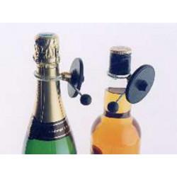 Etiquette serre col pour bouteille portique antivol antenne contrôle d'acces magasin