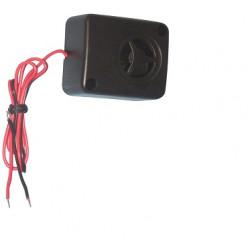 Microsirena piezoeléctrica 6 14vdc 170ma 110db cableado