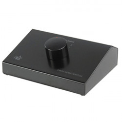 Hq 3 way stereo input control box