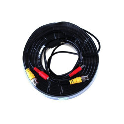Security coax cable rg59 + dc power 10.0 m