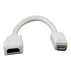 Mini dvi to hdmi female adapter cable