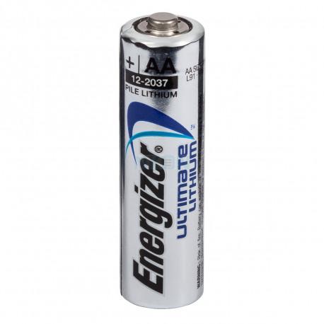 1 AA Energizer Lithium Battery L91 3000 mAh 1.5v LR6 Ultimate Cute
