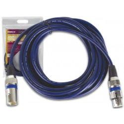 Professional dmx cable 2,5m