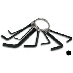 Gio 8 chiave a brugola esagonale vthex8 a bici: 1.5, 2.0, 2.5, 3.0, 3.5, 4.0, 5.0, 6.0 velleman