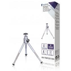 Mini tischstativ kn tripod10 kamera-und video-kameras höhenverstellbar von 100 bis 150mm