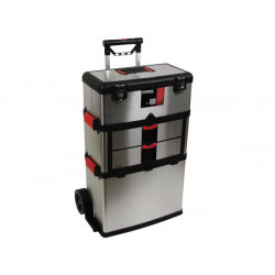 Roller toolbox stainless steel 570 x 354 x 830mm
