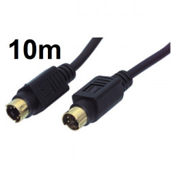 Cable cord male to s vhs s vhs male cable-524/10
