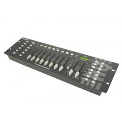 Régie lumière dmx 192 canaux son sono musique electronique velleman vdpc145 eclairage controleur
