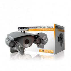 Camera cctv ir 12v etanche large bande sec-cam730 vision nocturne couleur könig