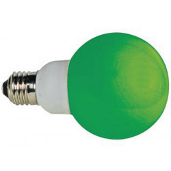 Green e27 led lamp 230vac 20 leds
