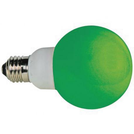 Green e27 led lamp 230vac 20 leds