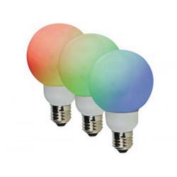 Lampadina led e27 rosso verde blu led 60 millimetri 1w 220v 20 230v 240v lampl60rgb