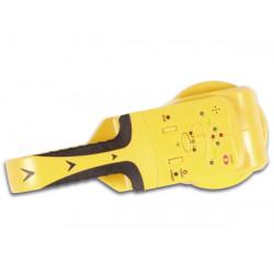 Detector de hilos eléctricos bajo tensión y de vigas metálicas y de madera