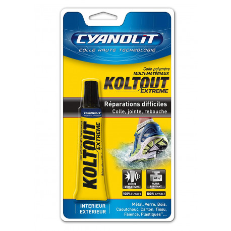 Glue 20ml multi materials without very solvent resistant qukoltout